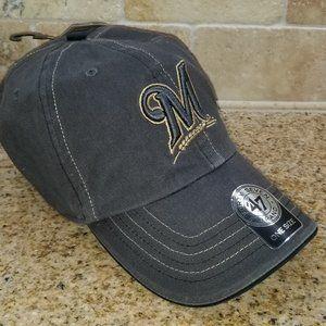 Milwaukee Brewers Baseball Cap - Adjustable